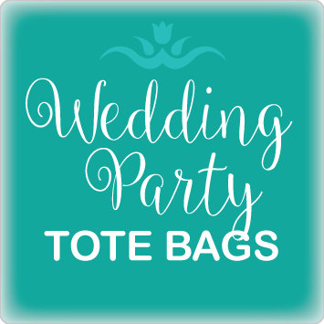 Wedding Party Tote Bags