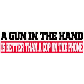 A Gun In The Hand