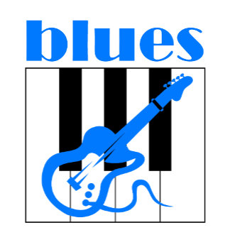 Blues guitar and piano