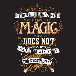 Just Because You're Allowed To Use Magic...