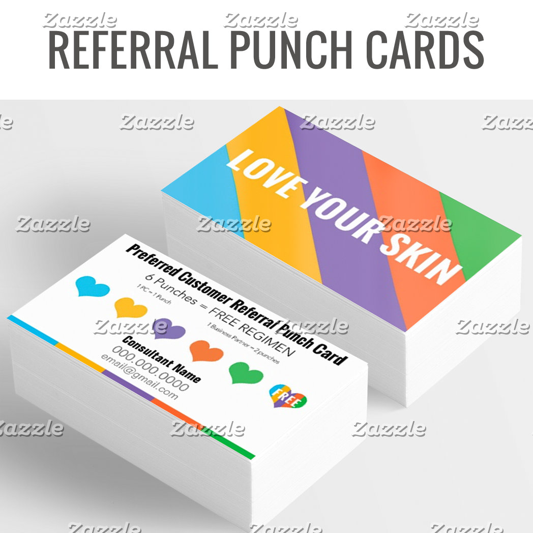 Referral Punch Cards