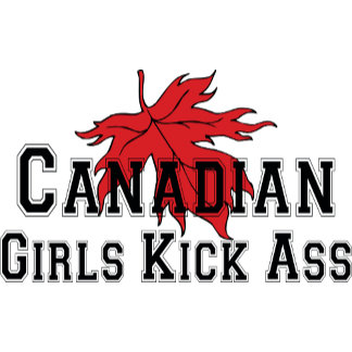 Canadian Girls Kick Ass T-Shirt Gift Cards