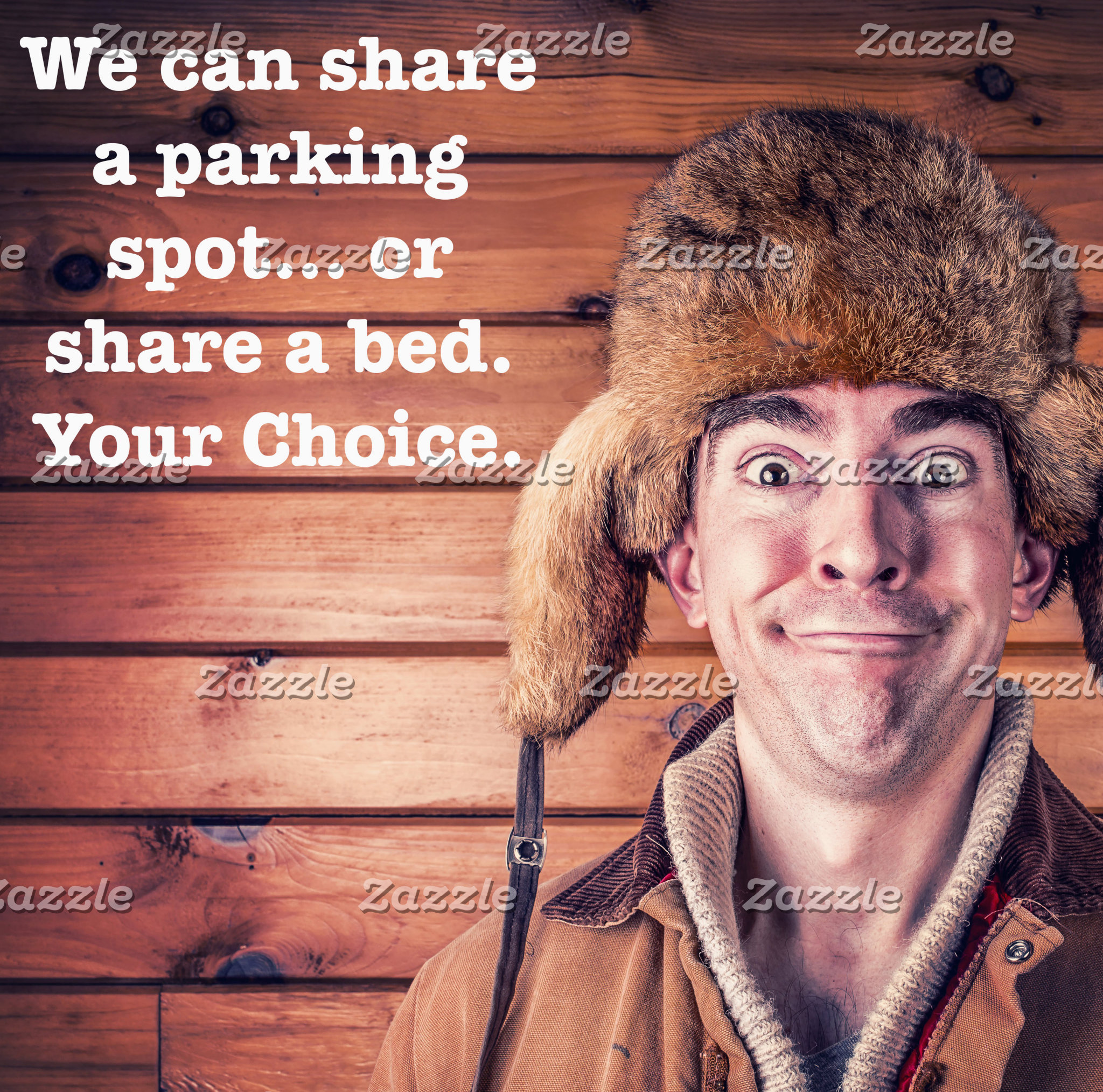Share A Parking Spot or Share A Bed-Your Choice