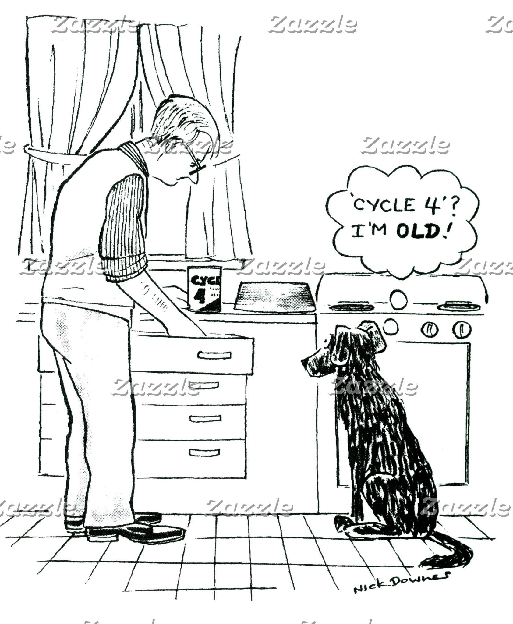 Dog Getting Older