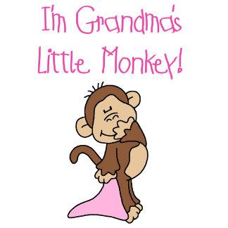 Grandma's Little Monkey - Pink