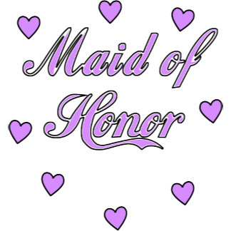 Wedding Hearts Maid of Honor