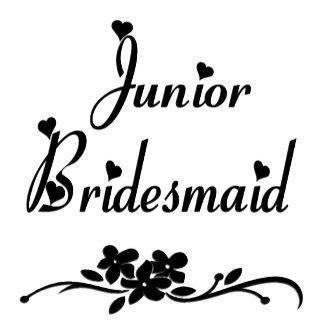 A Classic Junior Bridesmaid