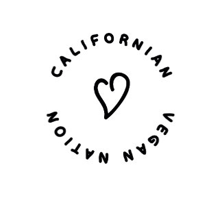 CALIFORNIAN_VEGAN_NATION LOGO PRODUCTS