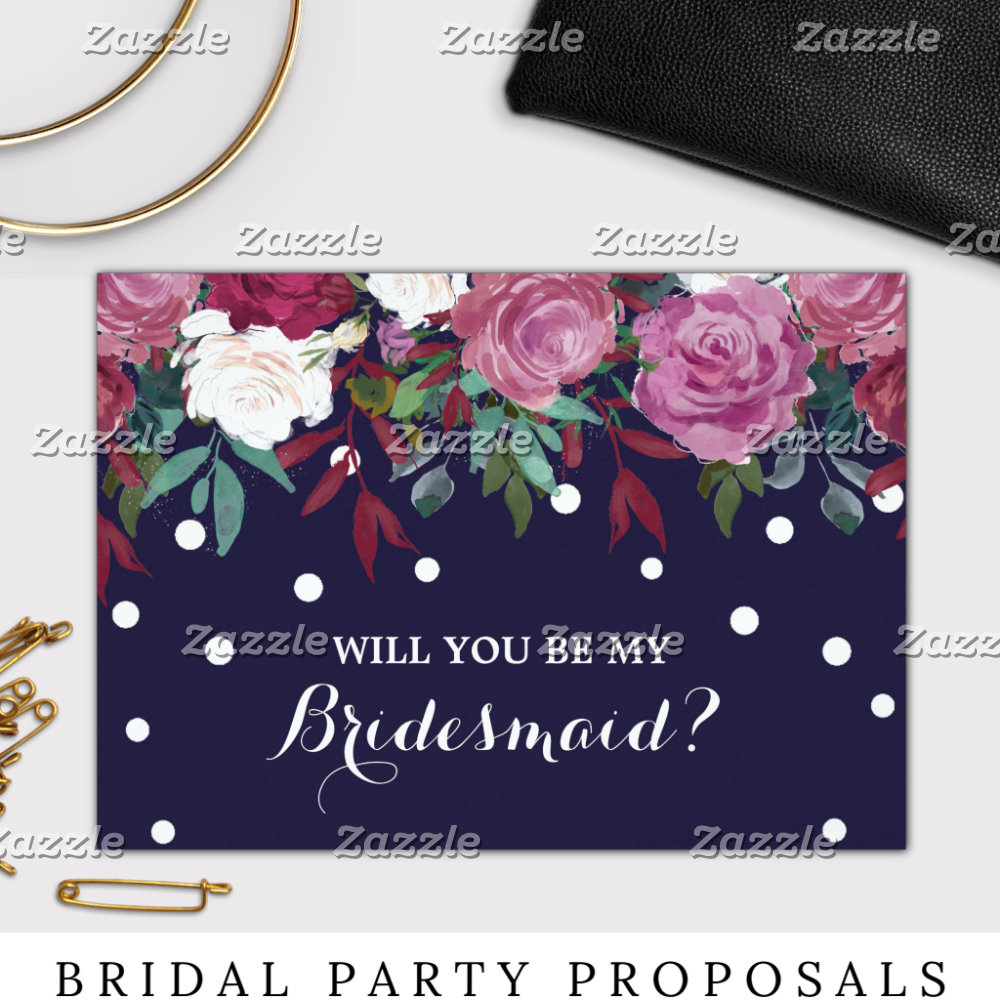 Bridal Party Proposals