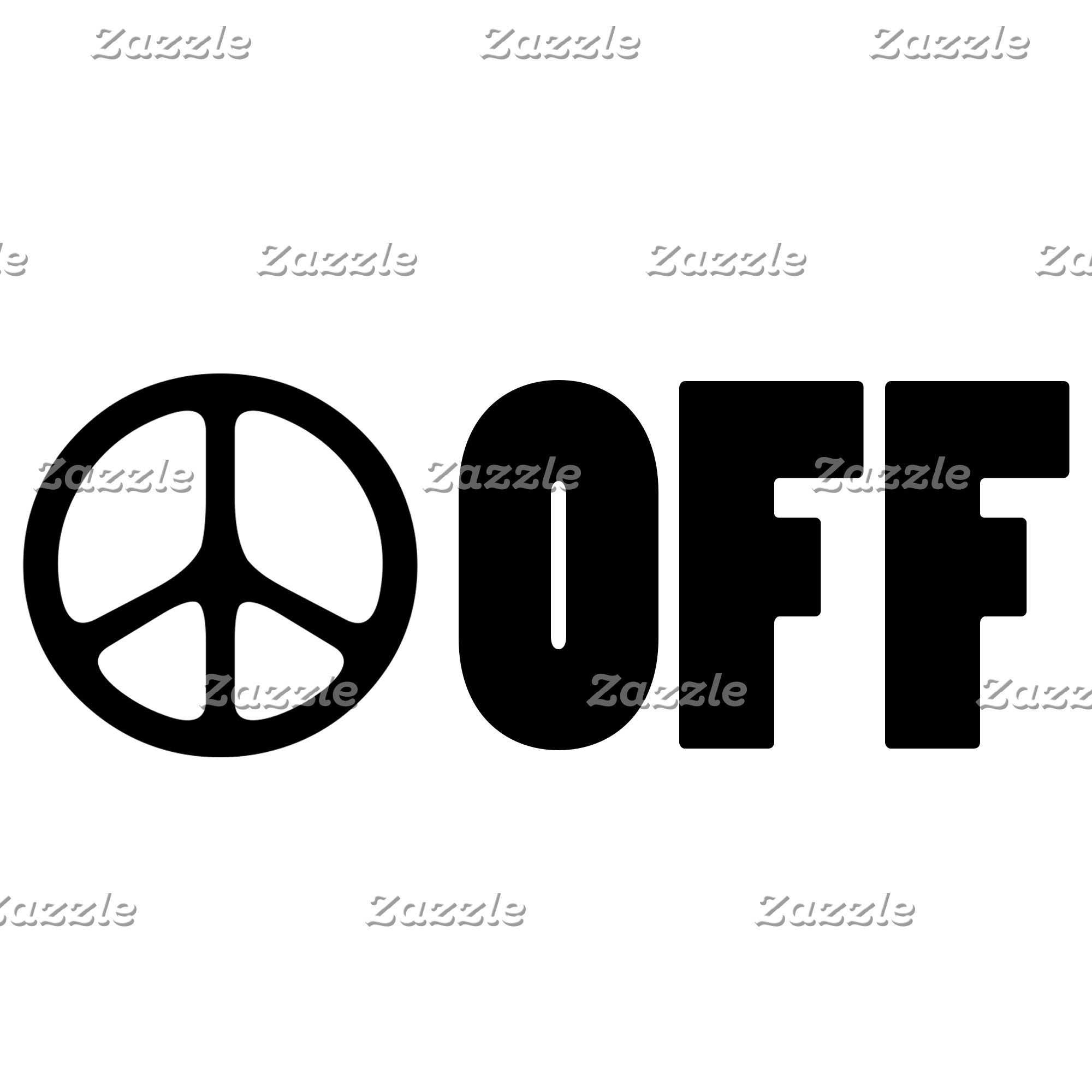 Funny spoof peace sign Tees