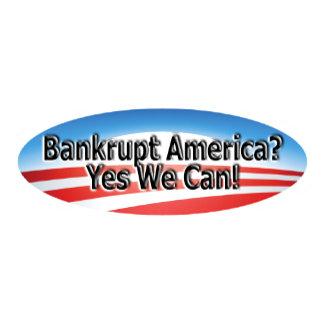 Bankrupt America?