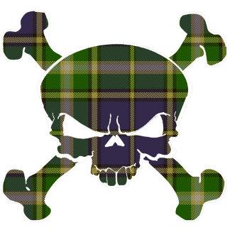 MacManus Tartan Skull - No Banner