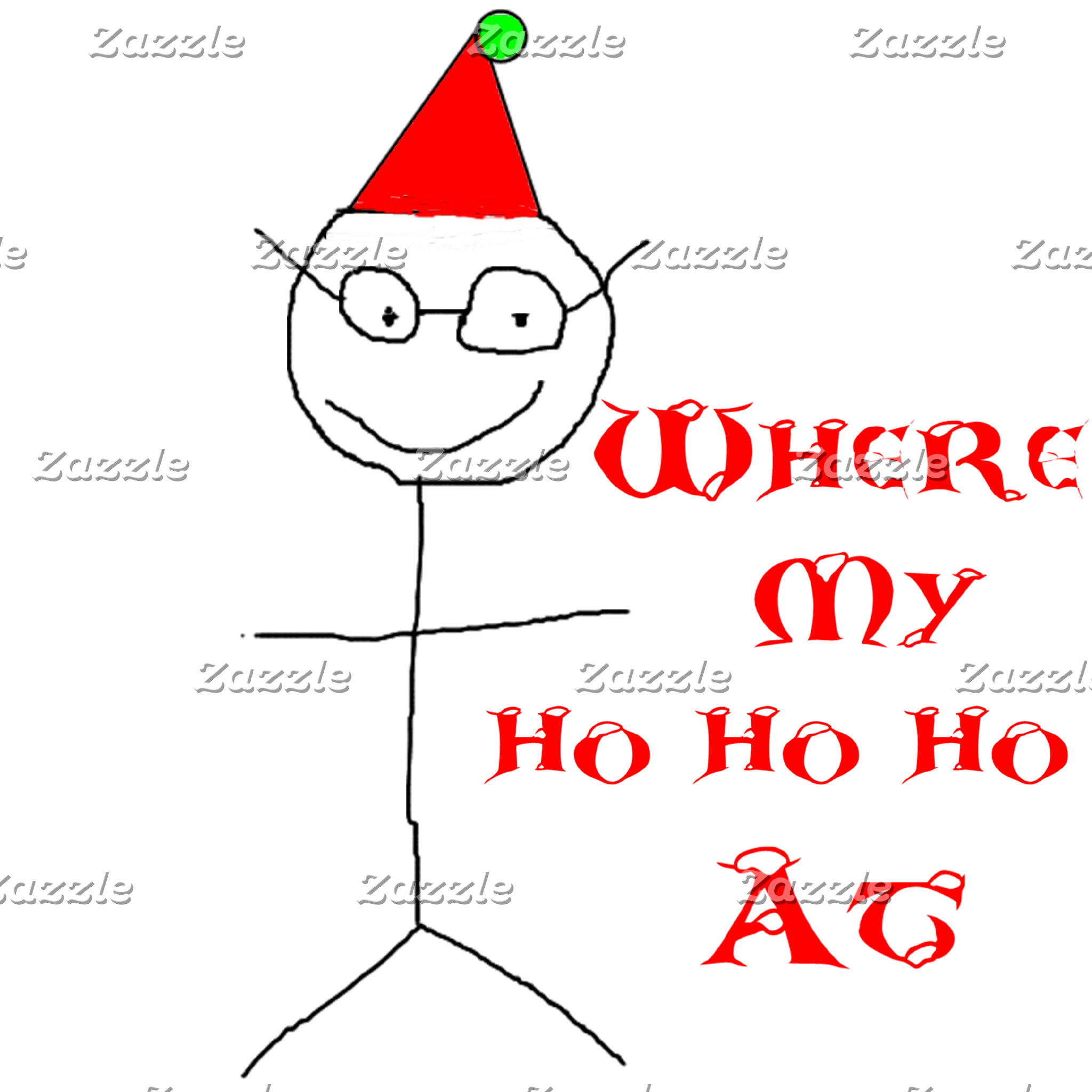 Stick Figure Dan Christmas