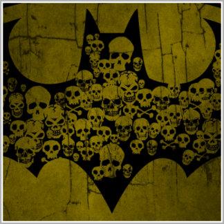 Skulls in Bat Symbol