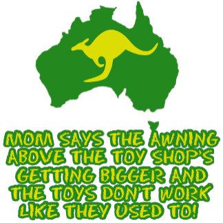 Funny Australian slang T shirts