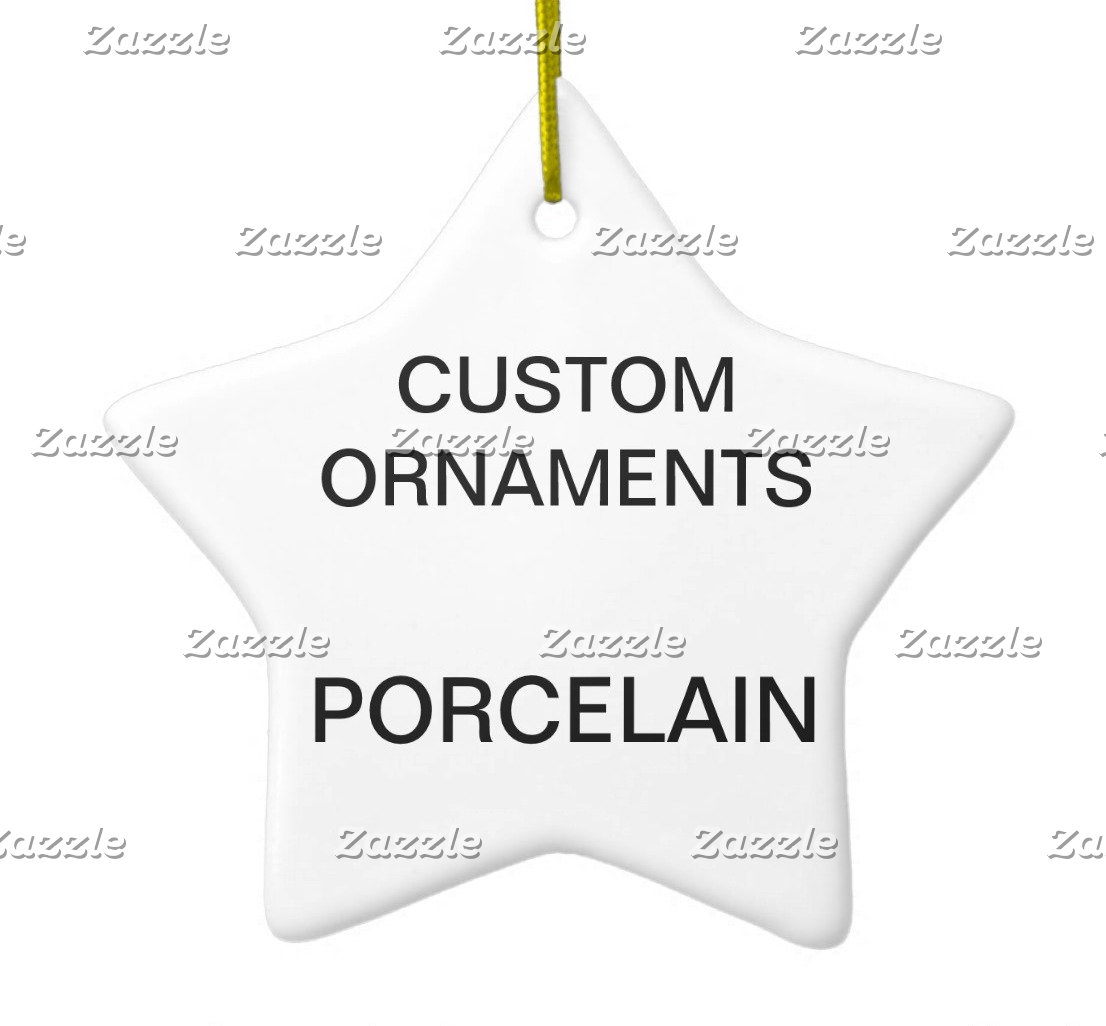Porcelain Ornaments