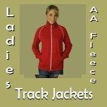 Ladies AA Fleece Track Jackets