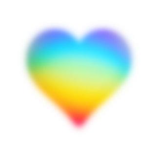 heart shaped rainbow