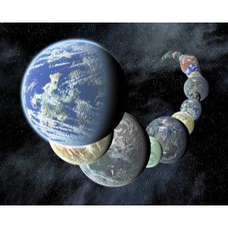 Rocky, terrestrial worlds