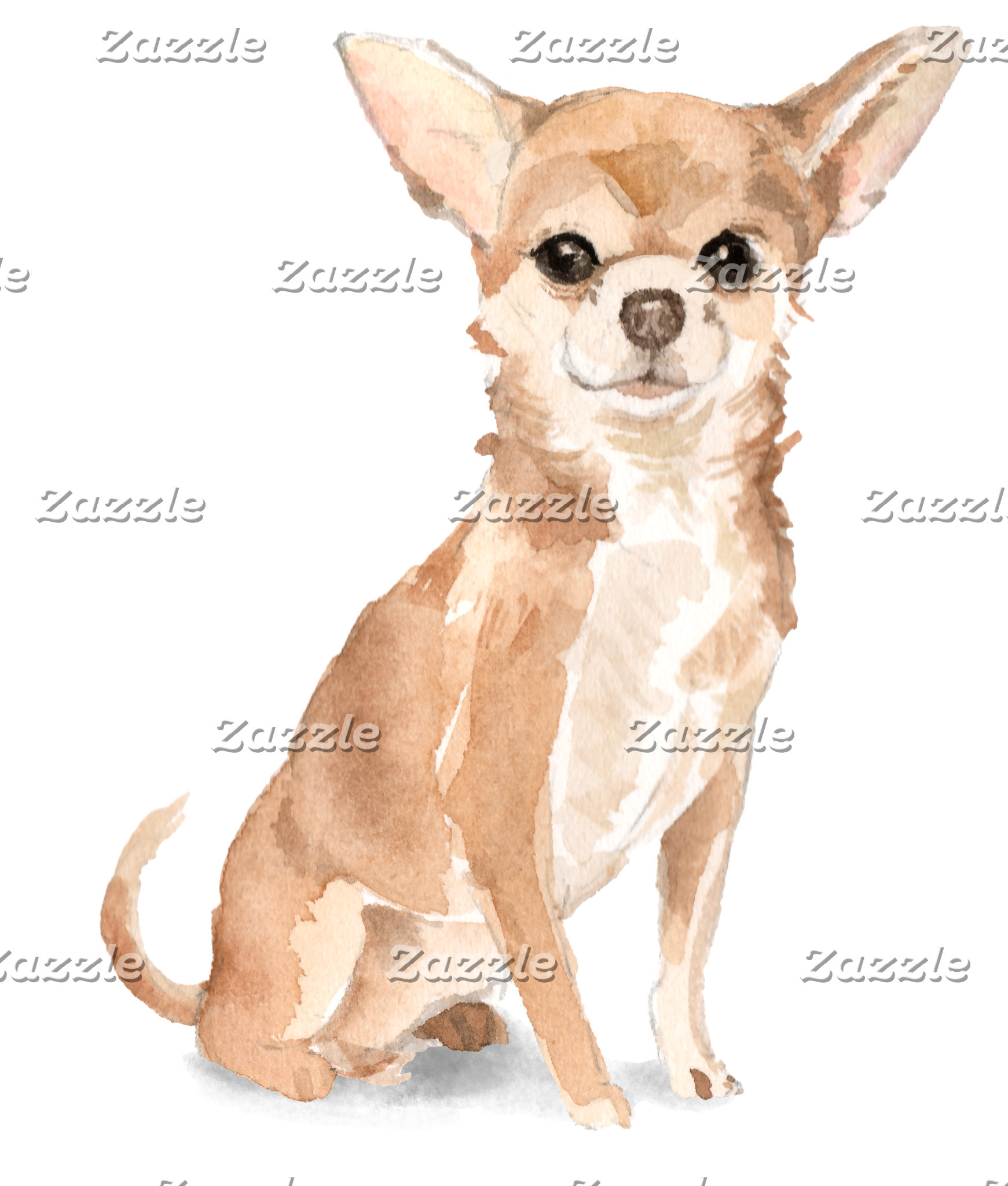 Chihuahua Princess Illustration