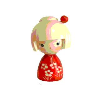 Red Kokeshi