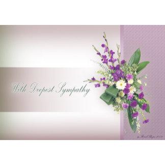 Floral Cards Sympathy