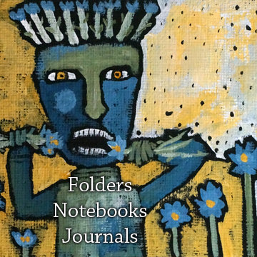 Folders, Notebooks, Journals