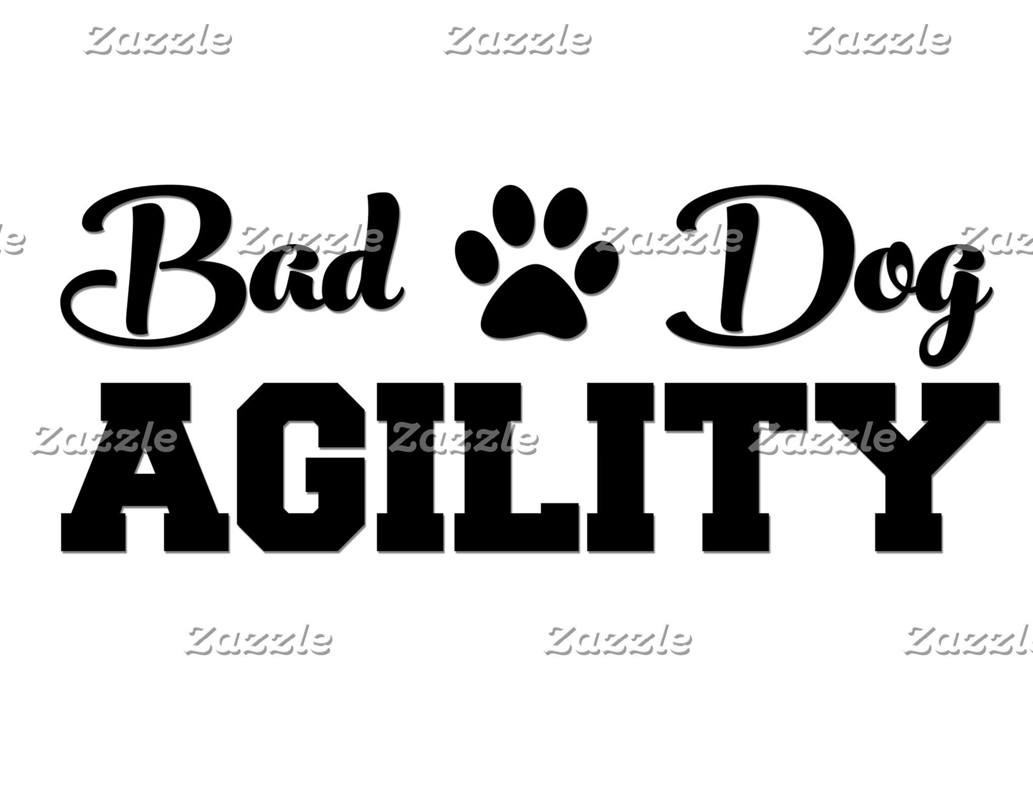 Cursive Bad Dog, Block Agility