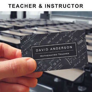 - Teacher and Instructor -