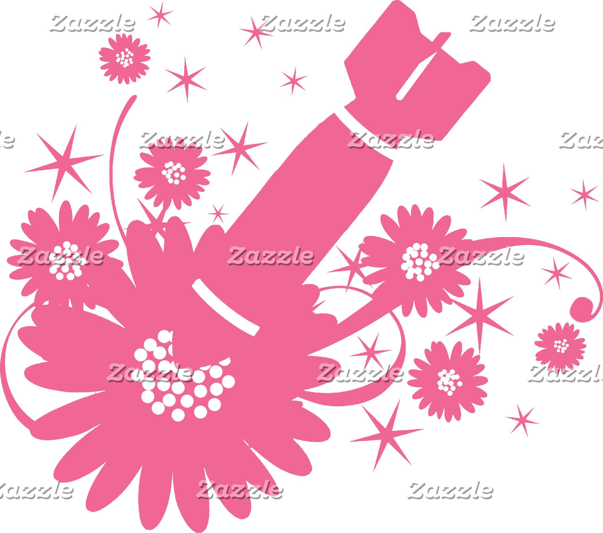 Pink Flower Bomb