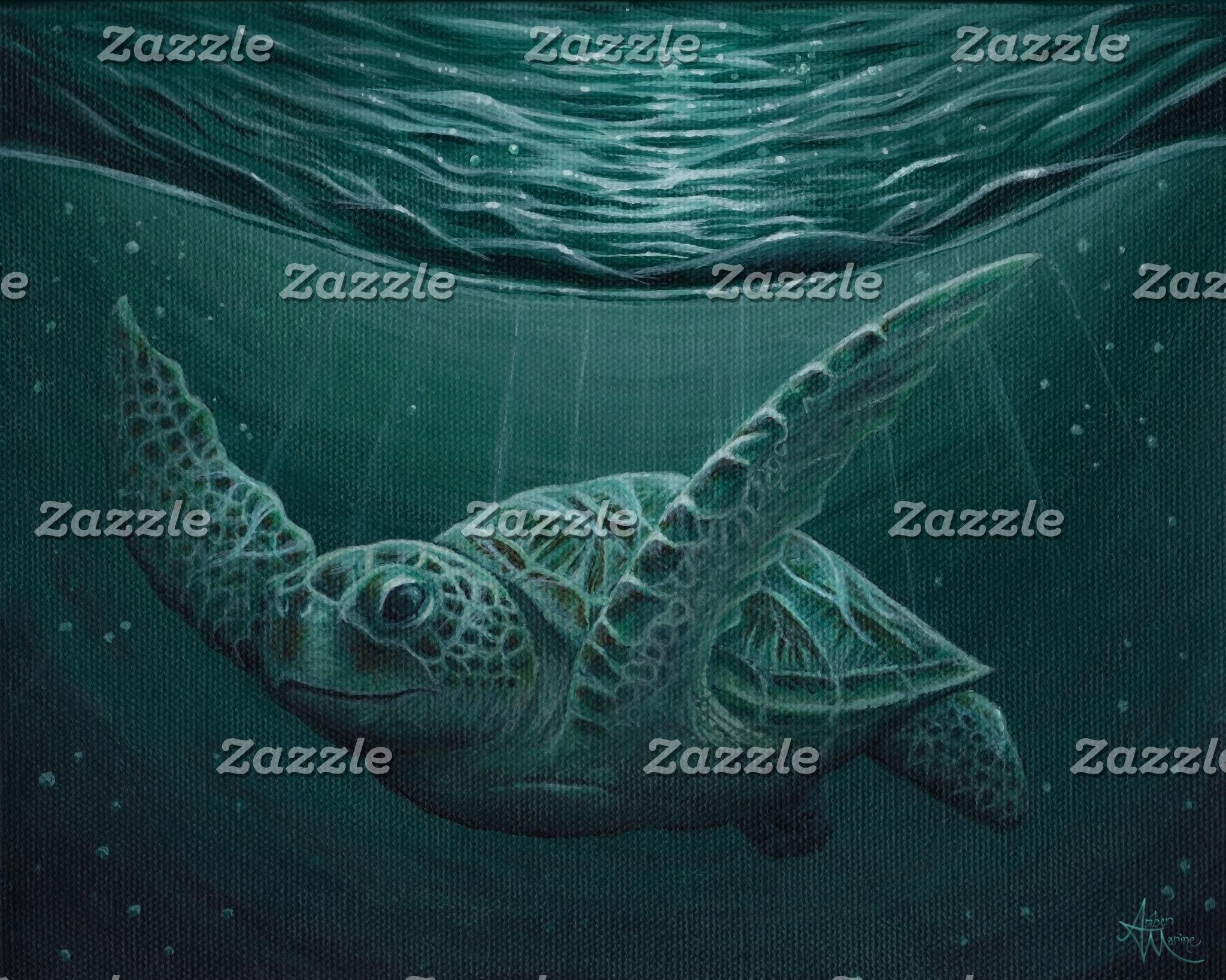 Art: Eclipse Green Sea Turtle