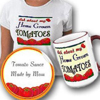 Homegrown Tomatos Retro Gardener Saying