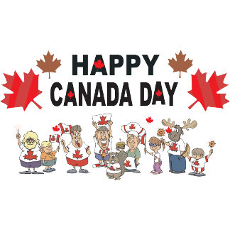Happy Canada Day T Shirt Gift Cards