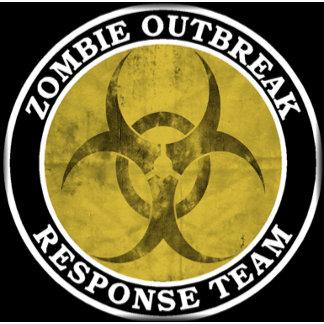 Zombie Outbreak White Biohazard