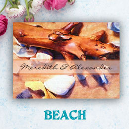 Beach Wedding Invitations & Save the Dates