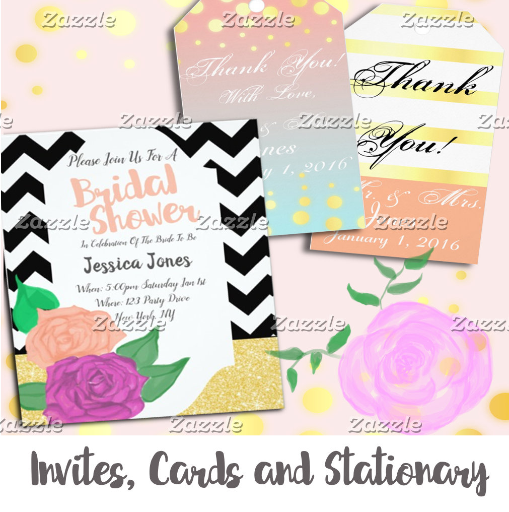 Invites, Cards, and Gift Tags