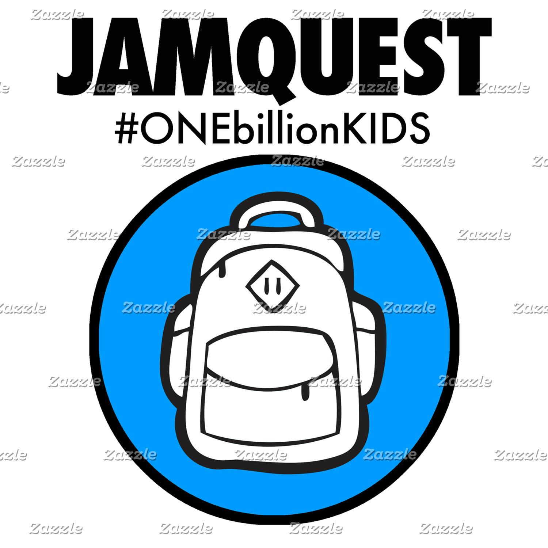 JQ Backpack #ONEbillionKIDS