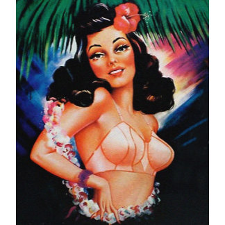 Brassiere Pinup Girl