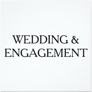 Wedding & Engagement