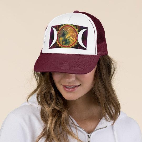 New Age Pagan Hats, Trucker