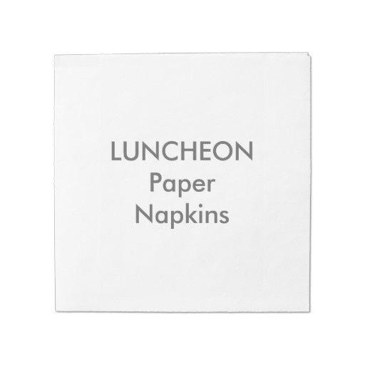 "LUNCHEON Napkins - 6.5"" Square"