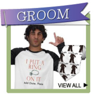 Groom T-shirts, Personalized Gifts, Ties, Favors