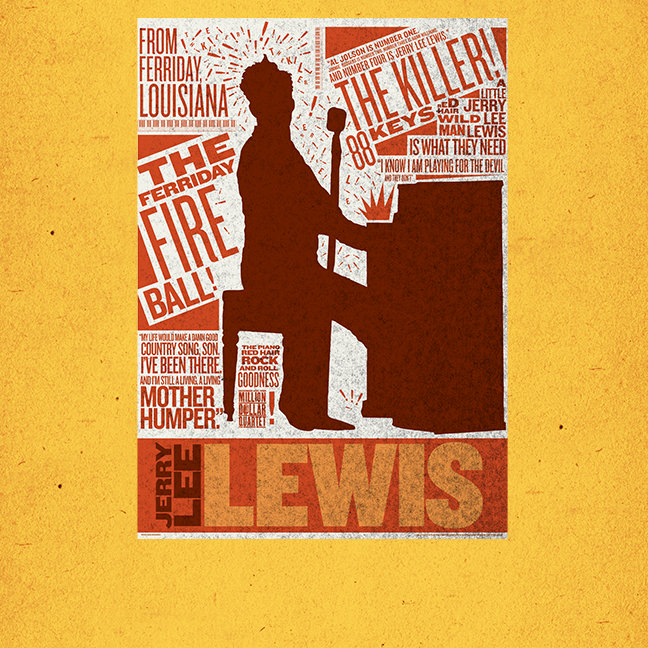 Million Dollar Quartet Lewis Type