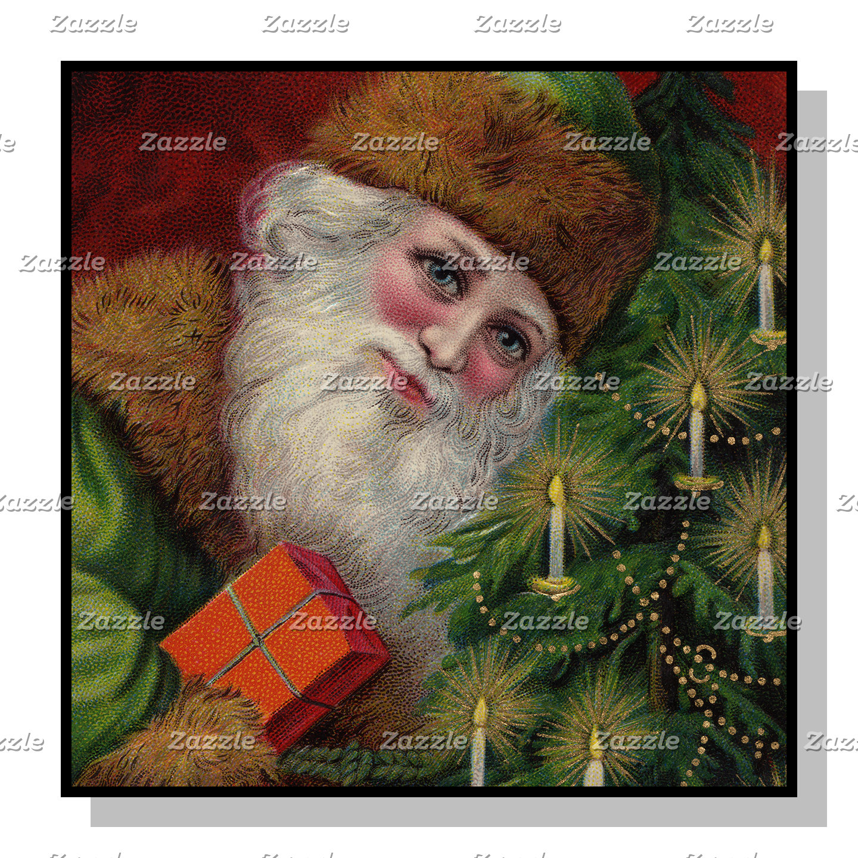 Jewel Tone Santa