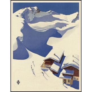 Austria Ski lodge in the Alps