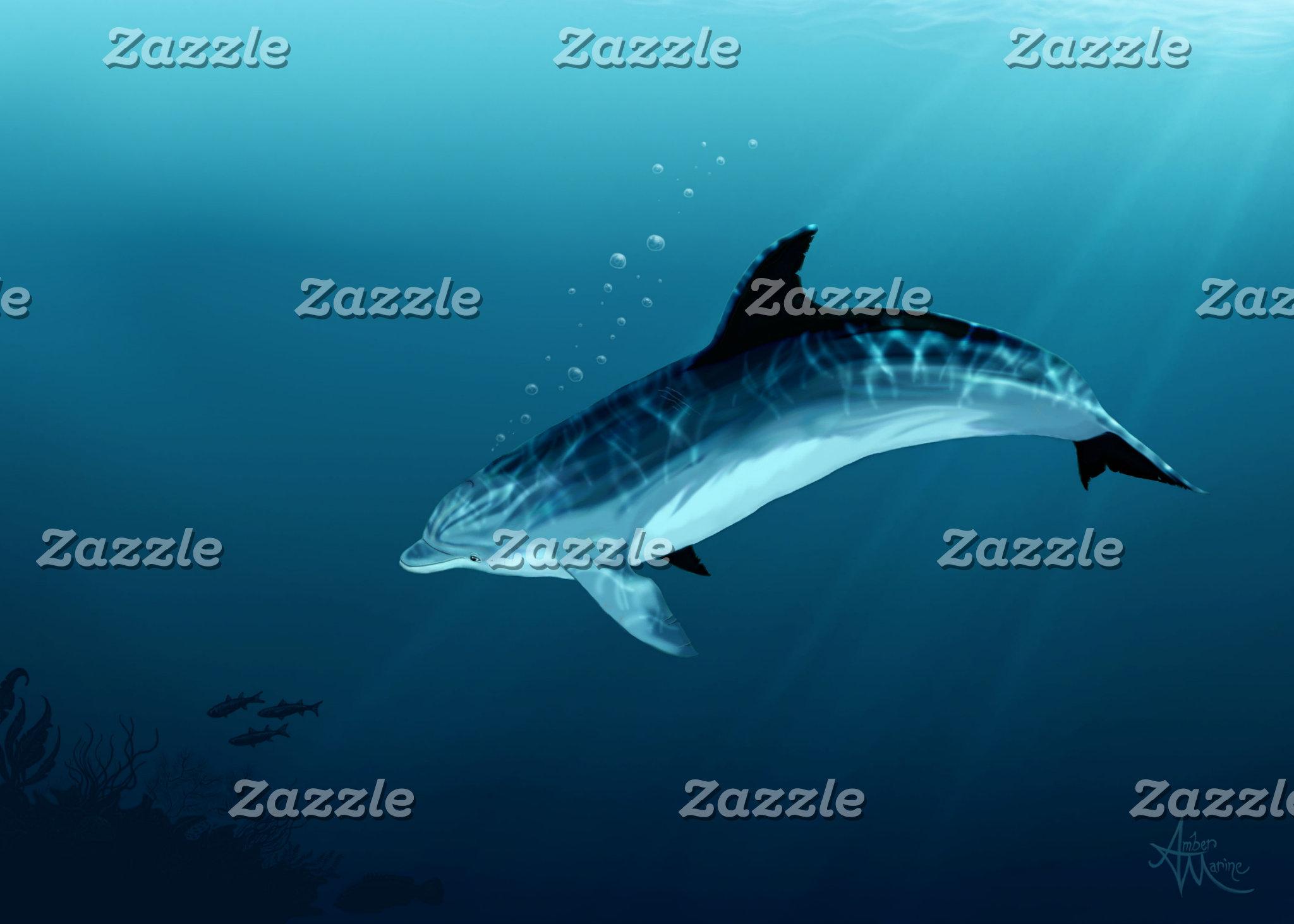 Art: Blackfin the Dolphin