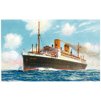 Vintage Ship Posters