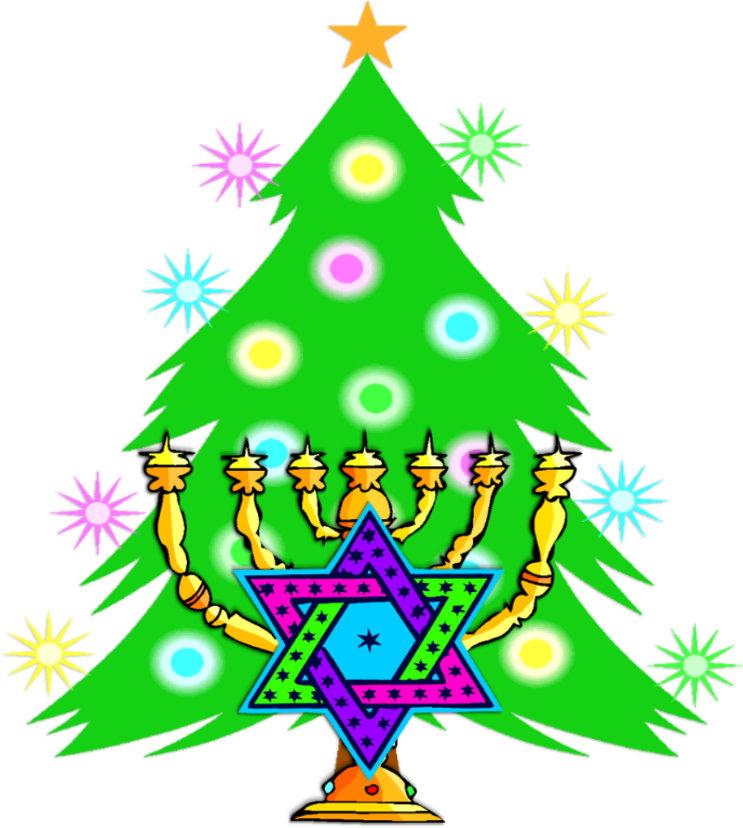 Hanukkah and Christmas Together