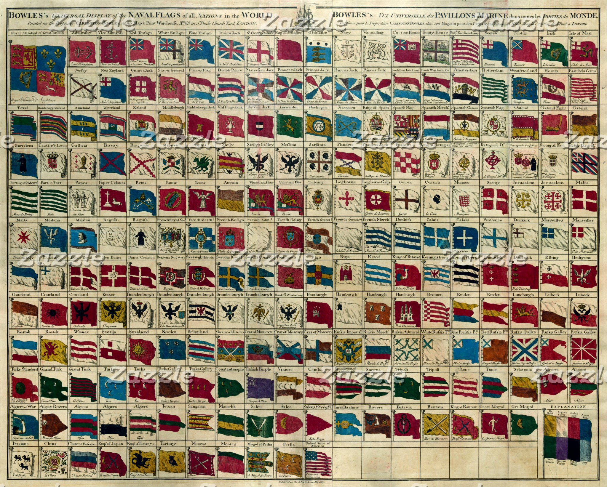 Bowles's naval flags of the world