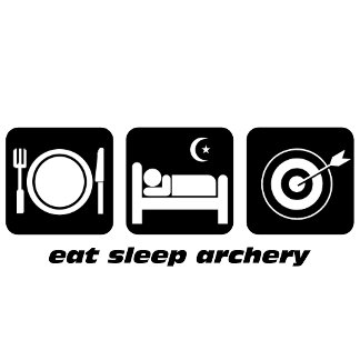 eat sleep archery